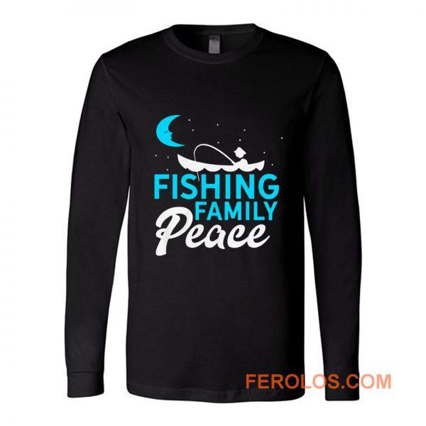 Fishing Family Peace Long Sleeve
