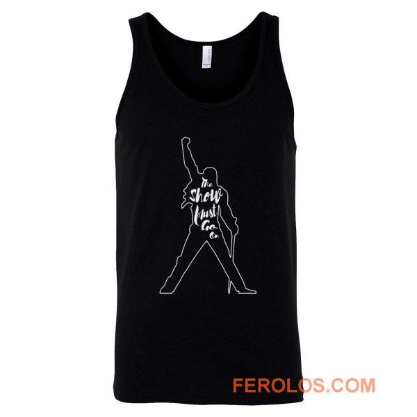 Freddie Mercury The show must go on Tank Top