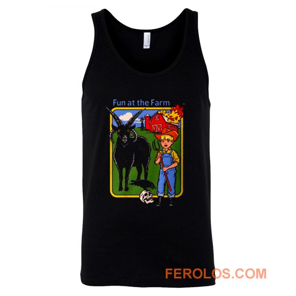 Fun At The Farm Tank Top
