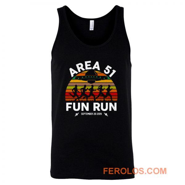 Fun Run Area 51 Tank Top