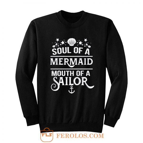 Funny Mermaid Sweatshirt