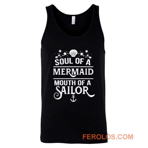 Funny Mermaid Tank Top