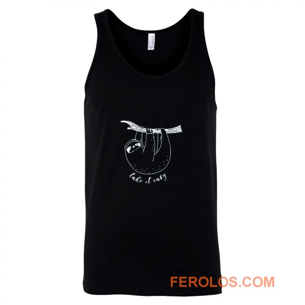 Funny Quotes Sloth Tank Top