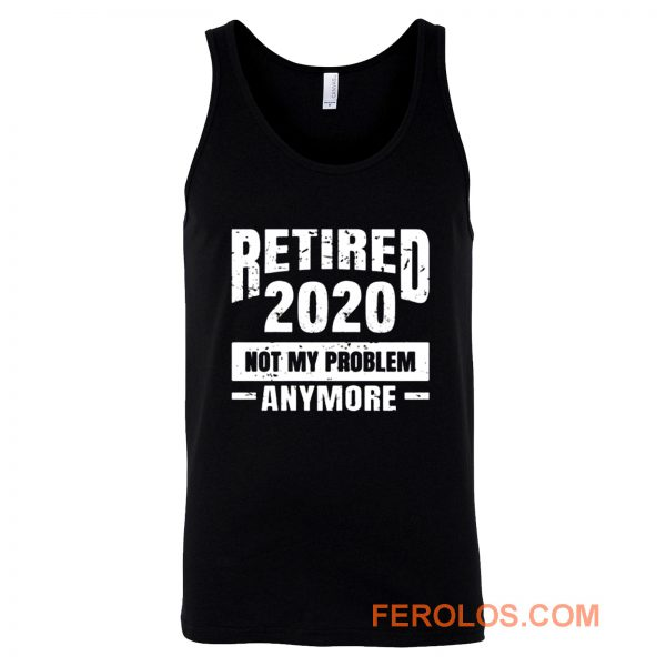 Funny Retirement Tank Top