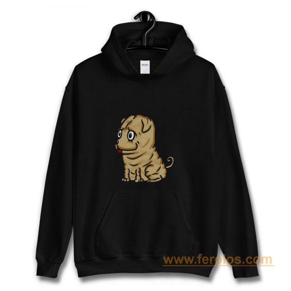Funny Shar Pei Dog Cartoon Hoodie