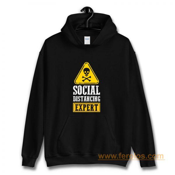 Funny Social Distancing Expert Hoodie
