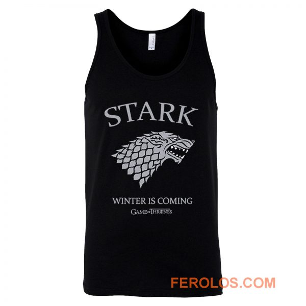 Game of Thrones House Stark Tank Top