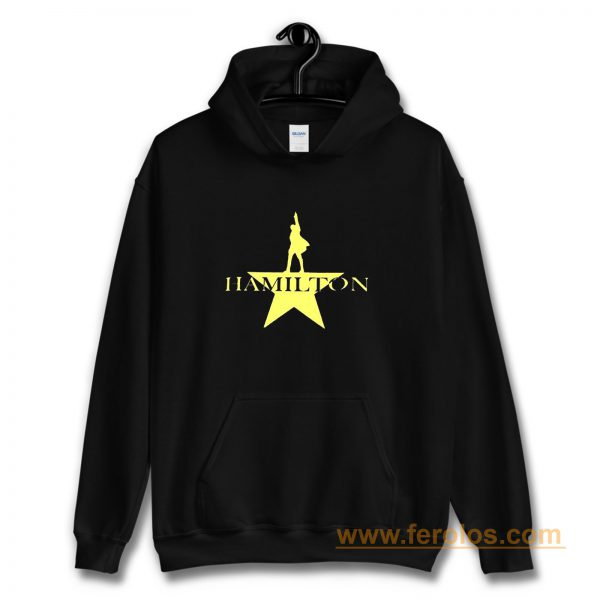 Hamilton American Musical Hamilton On Broadway Hoodie