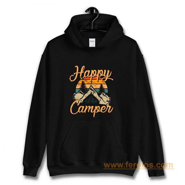 Happy Camper Camping Adventure Hoodie