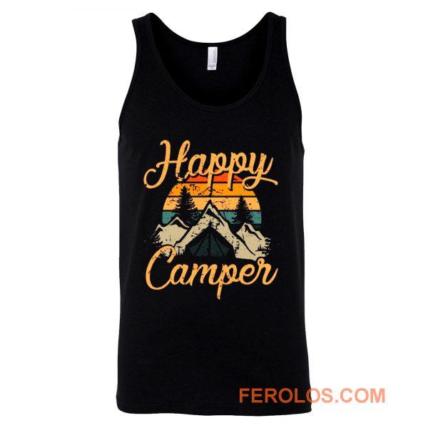 Happy Camper Camping Adventure Tank Top