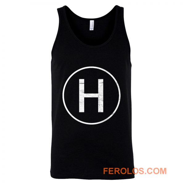 Helicopter Landing Pad Pilot Tank Top