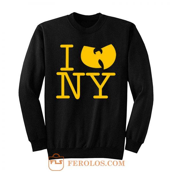 I Wu Tang Ny Clan Gza Rza Odb Hip Hop Sweatshirt