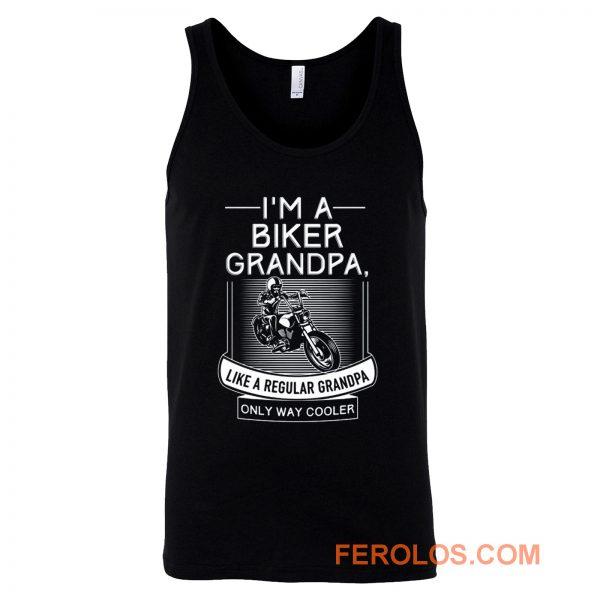 Im A Biker Grandpa Tank Top