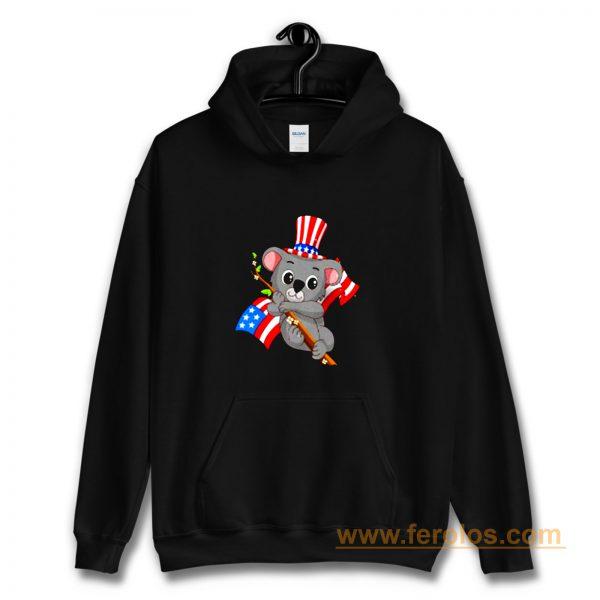 Independence Day Koala Hoodie