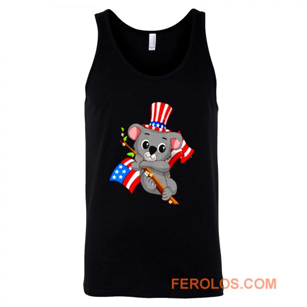 Independence Day Koala Tank Top
