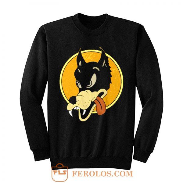 Jerry Garcia Wolf Guitar Sweatshirt