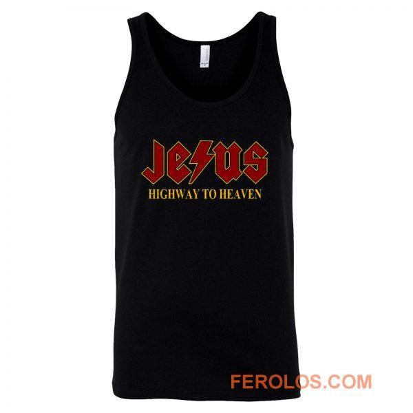 Jesus Highway to Heaven Tank Top