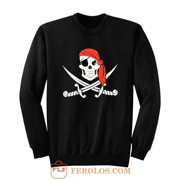 Jolly Roger Pirate Flag Sweatshirt