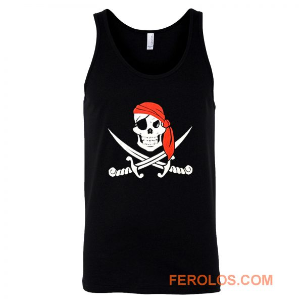 Jolly Roger Pirate Flag Tank Top