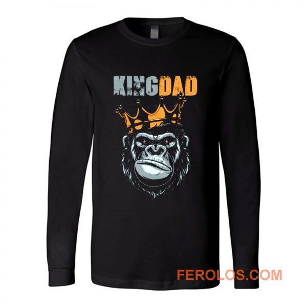 KIng Dad Fathers King Kong Long Sleeve