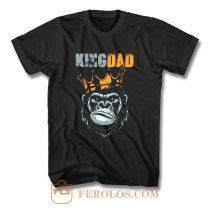 KIng Dad Fathers King Kong T Shirt