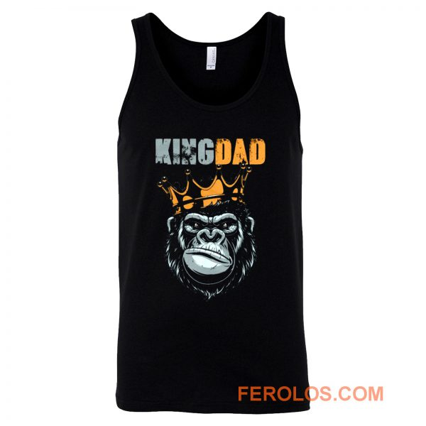 KIng Dad Fathers King Kong Tank Top