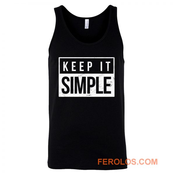 Keep It Simple Simplicity Tank Top