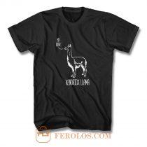 Kendrick Llama T Shirt