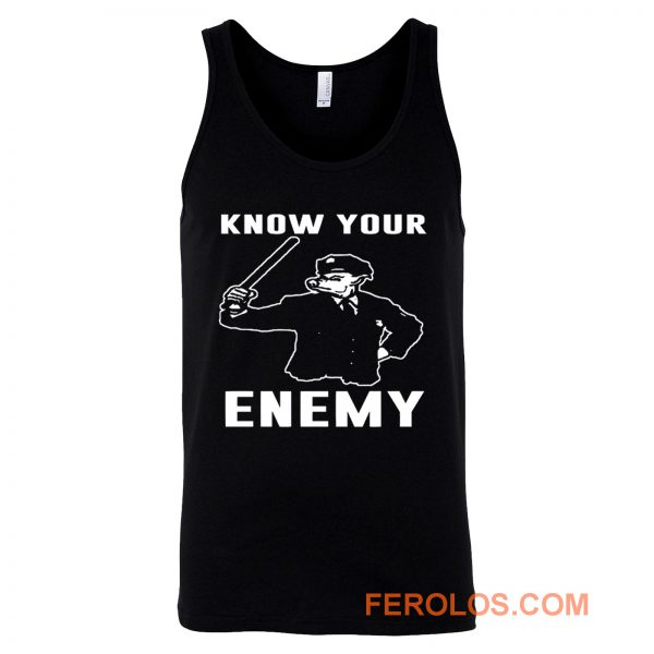 Know Your Enemy Pork Police Tank Top