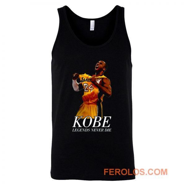 Kobe 24 Bryant Black Mamba Legend Forever Tank Top