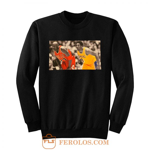 Kobe Bryant Michael Jordan memorial Sweatshirt