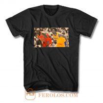 Kobe Bryant Michael Jordan memorial T Shirt
