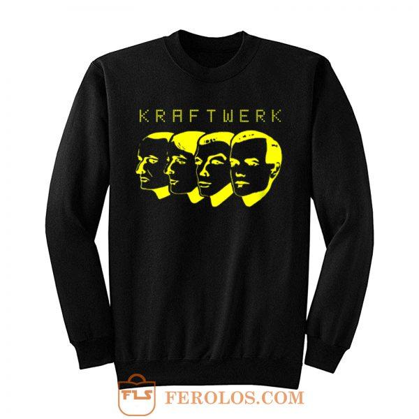Kraftwerk Germain Pop Band Sweatshirt