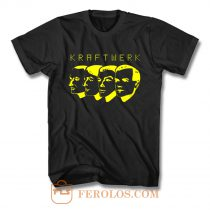 Kraftwerk Germain Pop Band T Shirt