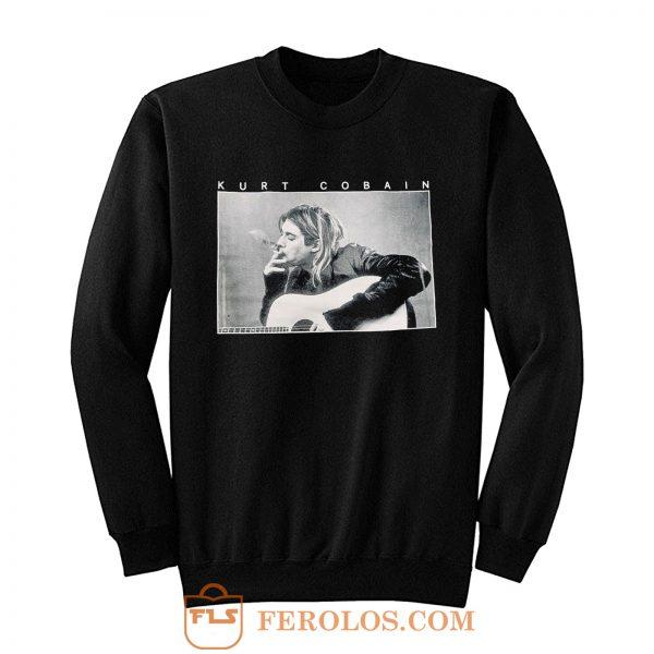 Kurt Cobain Smoking Sweatshirt