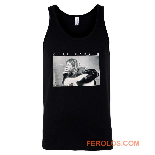 Kurt Cobain Smoking Tank Top