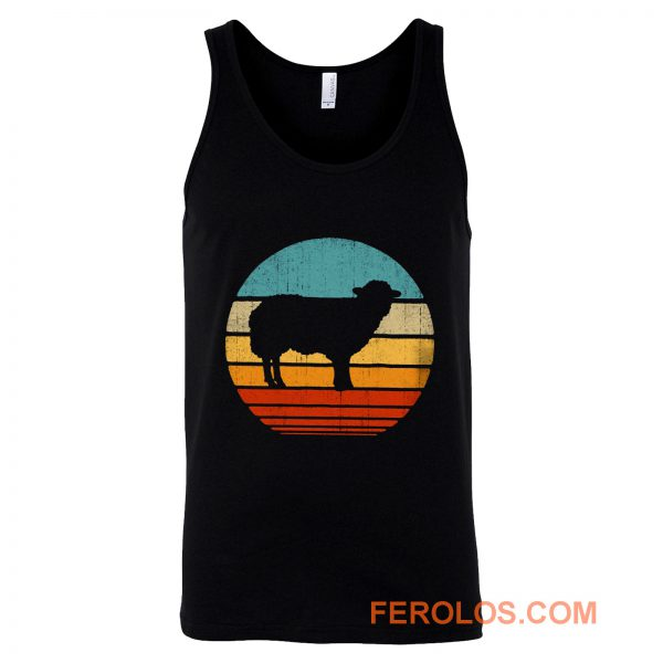 Lamb Sunset Tank Top