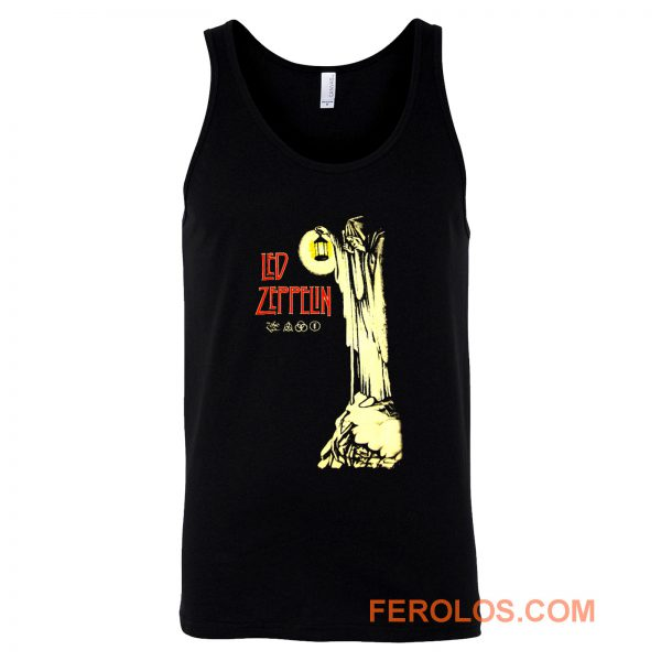 Led Zeppelin Hermit Plant Page Stairway To Heaven Tank Top