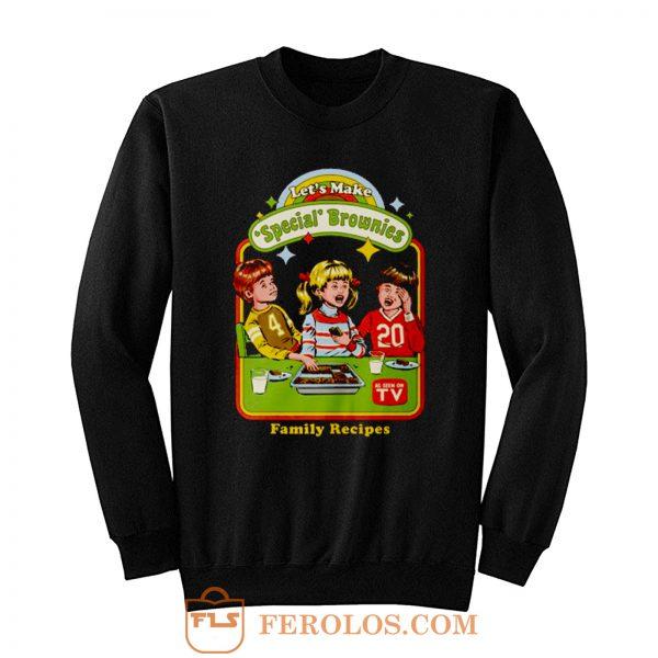 Lets Make Brownies Child Humor Sweatshirt