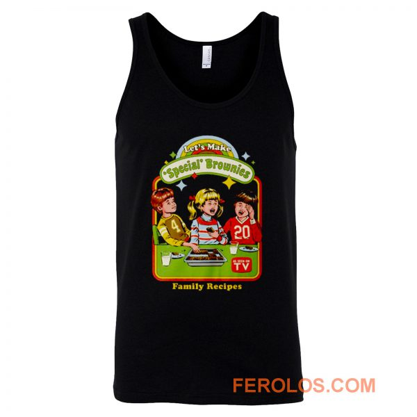 Lets Make Brownies Child Humor Tank Top
