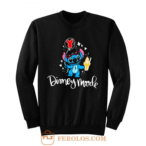 Lilo And Stitch Disney Mode Sweatshirt