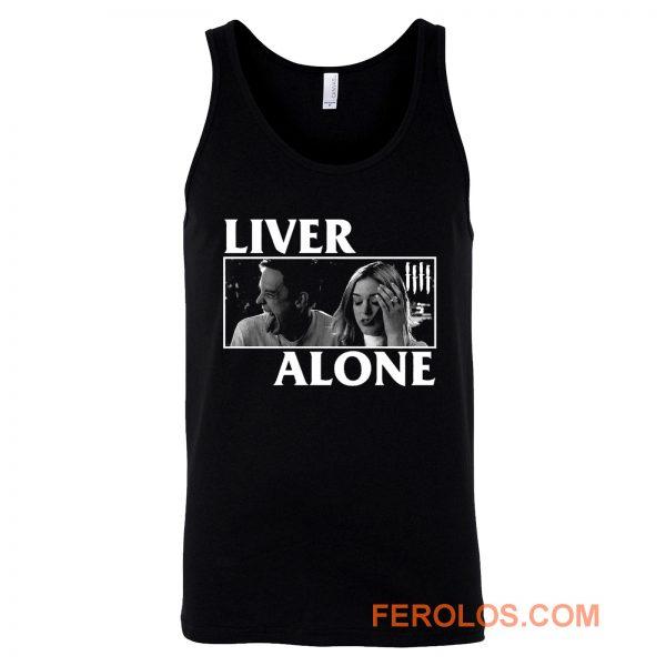 Liver Alone Horror Punk Halloween Tank Top