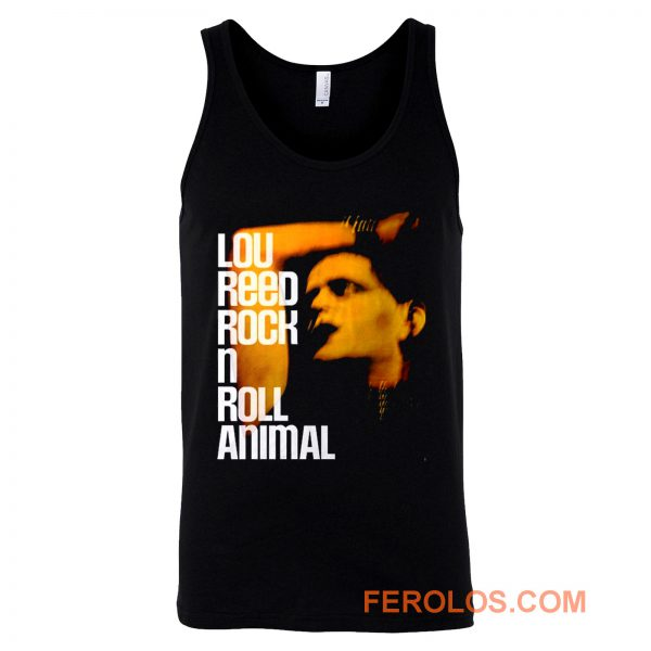 Lou Reed Rock N Roll Animal Big Tank Top