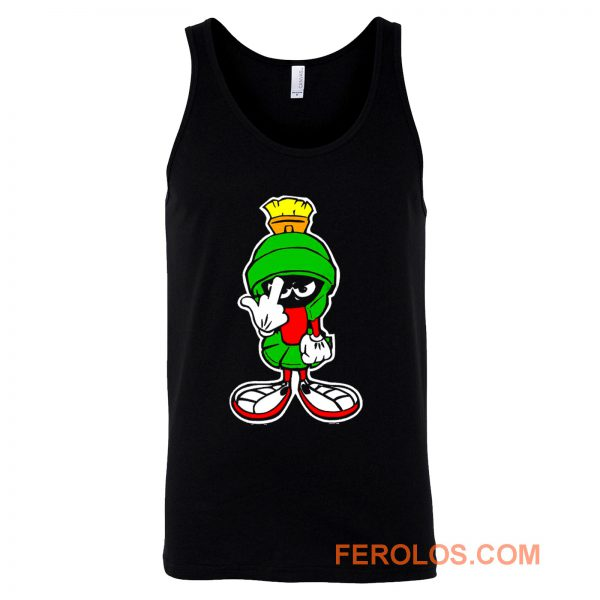 MARVIN THE MARTIAN Showing Midle Finger Tank Top
