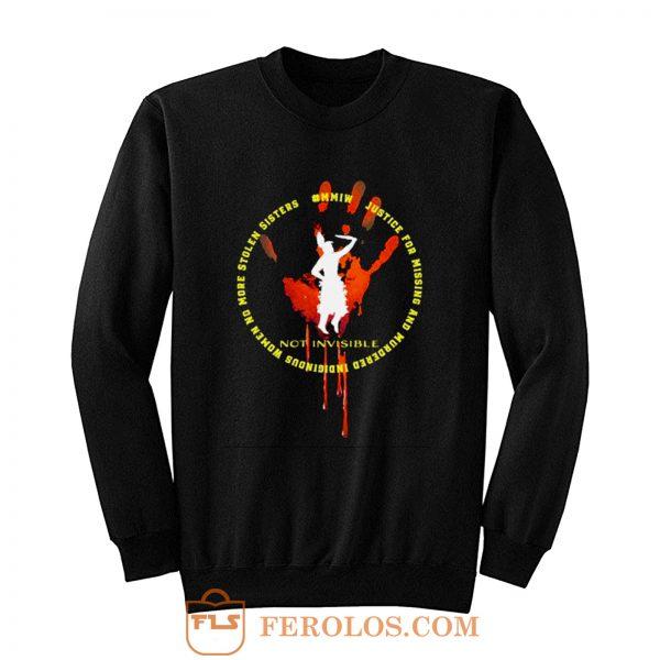 MMIW Invisible Sweatshirt