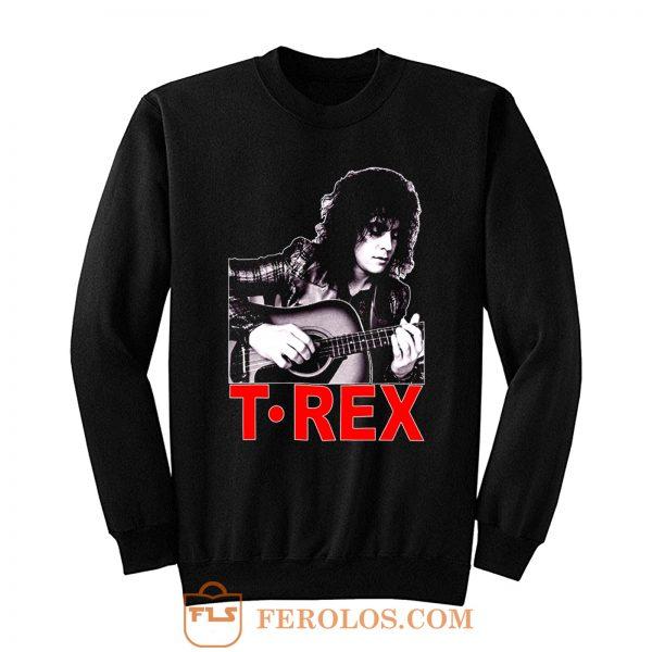 Marc Bolan T Rex Slider English Guitar Sweatshirt