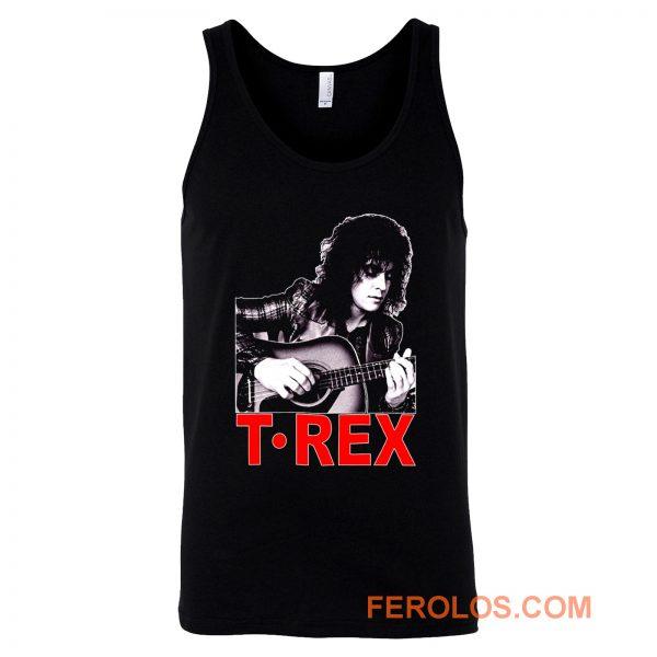 Marc Bolan T Rex Slider English Guitar Tank Top