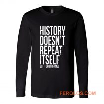 Mark Twain Literature Quote Long Sleeve