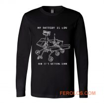 Mars Rover Opportunity NASA Science Long Sleeve