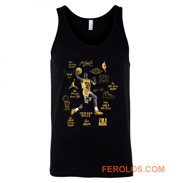 Michael Jordan Air Jordan 6 DMP Match Tank Top